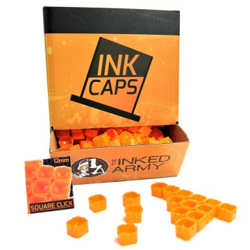 The Inked Army - Square Click Ink Caps - Farbkappen